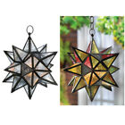 You Choose Color Hanging Multi Point Star Candle Lantern