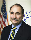 DAVID AXELROD AUTOGRAPHED 8 x 10 PRESIDENT OBAMAS TOP AIDE RE ELECTION CAMPAIGN