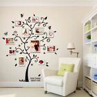USA Photo Picture Frame Family Tree Removable Wall Sticker Home Decor Decals