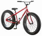 26 Mongoose Mens Brutus Fat Tire Bike Red