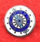 Daughters of The American Revolution Membership Pin in Sterling