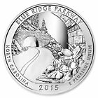 2015 ATB 5 oz Silver America The Beautiful Blue Ridge Parkway Bullion