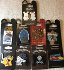 Disney Authentic 10 Pin Trading collector Pin Set  E 23