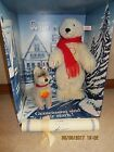 RARE STEIFF BEAR AND WOLF 655098 Limited Edition WITH coa 00466