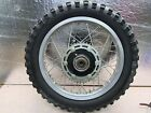 1977 YAMAHA DT 400 D OEM REAR WHEEL /TIRE /BRAKE PANEL/DRIVE SPROKET
