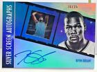 Kevin Durant 2015-16 Panini GALA Silver Screen on-card Autograph Auto #'d 30 35