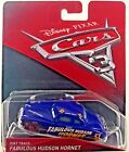 NEW Disney Pixar Cars 3 Dirt Track Fabulous Hudson Hornet Die Cast Vehicle 155