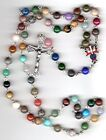 KC De Colores Rosary 8MM 4th Degree Rosary