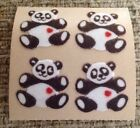 Vintage Sticker MOD 2in X 2in Sandylion Fuzzy Panda 1986 Rare Sandy Lion