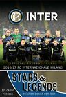 2016-17 EPOCH FC INTERNAZIONALE MILANO SOCCER STARS & LEGENDS HOBBY BOX