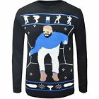 Womens Vintage HOTLINE BLING Novelty Retro Jumper Ladies Pullover Sweater Top