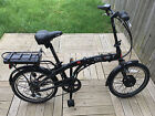 Coyote Connect Li ion Battery Alloy Folding Frame Electric Bike 20 Inch Wheels
