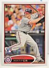 Bryce Harper 2012 Topps Photo Variation SP Front Leg Up RC #661 - NATIONALS