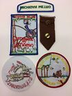 Lot Brownie Girl Scout Michigan Metro Pins Camp Narrin USS Silversides Patches