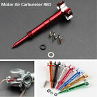 Red Easy Adjustable Fuel Mixture CNC Adjuster Screw Car Auto SUV Air Carburetor