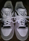 Nike 60 Air Zoom Oncore 2 White with Black  Gray Skateboard Shoes Youth 6 M