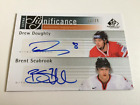 2011-12 SP Game Used Drew Doughty 25 Brent Seabrook Dual Auto Canada Blackhawks