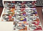 2017 Panini Elite Draft Picks College Ties Lot 11 w Leonard Fournette,Bo Jackson