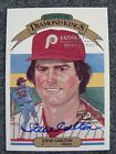 STEVE CARLTON 2001 DONRUSS RECOLLECTION 20TH ANNIVERSARY COLLECTION AUTO SIGNED