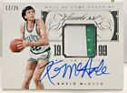Kevin McHale 2013-14 Panini Flawless HOF 2 color GU Patch on-card Auto #'d 12 25