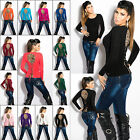Women's Jumper Top Clubbing Ladies Pullover Party Leo Sweater One Size 6 8 10 12