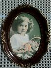 Victorian style oval 5 x 7 photo frame New