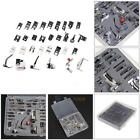 32PCS Domestic Sewing Machine Presser Foot Feet Kit For Janome Brother Singer #