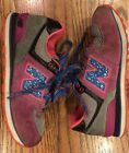 New Balance 574 Girls Size 1 Youth Sneakers Pink Purple Blue