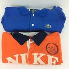 Lacoste  Nike Kids L16 18 Polo Shirts Lot of 2