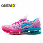 Onemix Womens Trail Running Shoes Girls Casual Pink Slanting Tongue Sneakers