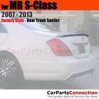 Painted Trunk Spoiler For 07-13 Mercedes S-Class 4Dr 792 PALLADIUM SILVER MET