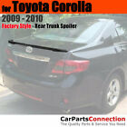 Painted Trunk Spoiler For 09 10 Toyota Corolla Lip 1F7 CLASSIC SILVER METALLIC