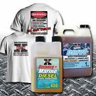 Rev X Distance+ Boat Diesel Fuel Additive  Lightweight Outdrive Lower Unit Lube