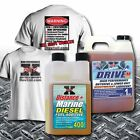 Rev X Distance+ Boat Diesel Fuel Additive  Heavyweight Outdrive Lower Unit Lube