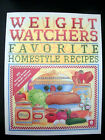 Weight Watchers Favorite Homestyle Recipes 1994
