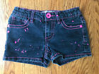 Squeeze Jean Adjustable Shorts Cute Size 7