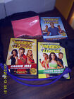 LOT OF 9 EXERCISE DVDS  TAPES LESLIE SANSOME  BIGGEST LOSER PAULA ABDUL