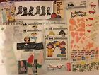 Miscellaneous Lot Of Scrapbook Bulletin Board Journal Stickers  Embellishments