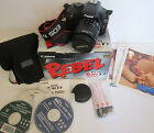 Canon EOS Rebel T3 EOS 1100D 122 MP Digital SLR Camera Black Kit w