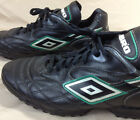 Umbro Soccer Training Cleats Mens Size 10 Black Leather