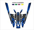 kawasaki 550 sx jet ski wrap graphics pwc stand up jetski decal sticker kit a1