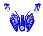 YAMAHA SUPER jet ski wrap graphics pwc  up jetski decal kit cru blu square nose