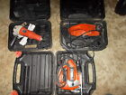 Black & Decker Power tools lot  (Angle Grinder, Planer,  Jigsaw and Welder)