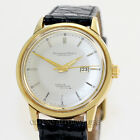IWC Vintage Ingenieur Date Silver Dial 18K Yellow Gold Stainless Steel Case Back