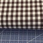 Richlin Fabric 65poly35cotton 14gingham Fabric Per 12 Yd 60 Wide