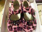 Pediped Hot Pink Leopard shoes sz small