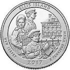 2017 D 25C Ellis Island NJ America the Beautiful Quarter