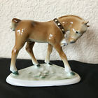 Zsolnay Horse Colt Porcelain Figurine Signed 1930s Handprinted Made Hungary EUC