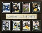 CICO 1215ATGMICH NCAA Football 12x15 Michigan Wolverines All Time Greats Plaq