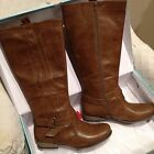 Maurices Alexa Riding Boots W Buckle Taupe Color NEW IN BOX Sz 11
